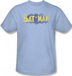 Image Closeup for Batman T-Shirt - Vintage Logo
