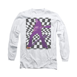 Image for Elvis Long Sleeve T-Shirt - Let's Rock