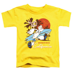 Image for Popeye the Sailor Toddler T-Shirt - Surfs Up