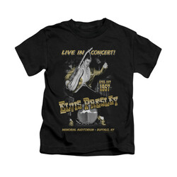 Image for Elvis Kids T-Shirt - Live in Buffalo