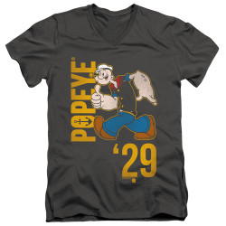 Image for Popeye the Sailor T-Shirt - V Neck - '29