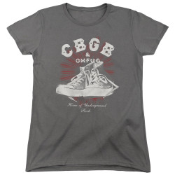 Image for CBGB Womans T-Shirt - High Tops