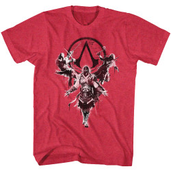 Image for Assassins Creed Multiple Attempts T-Shirt