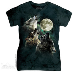 Image for The Mountain Tank Top - Three Wolf Moon