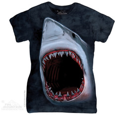 Image for The Mountain Girls T-Shirt - Shark Bite