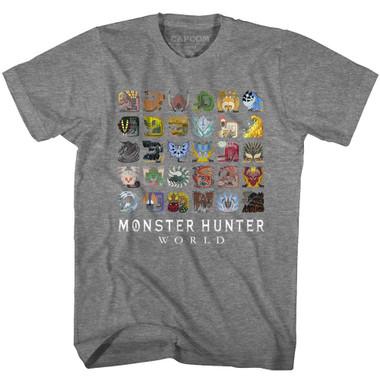 Image for Monster Hunter MHW Icons T-Shirt