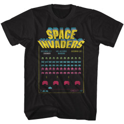 Image for Space Invaders Space Battle T-Shirt