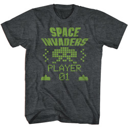 Image for Space Invaders Invading T-Shirt
