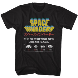 Image for Space Invaders New Game T-Shirt