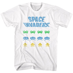 Image for Space Invaders 3 Waves T-Shirt