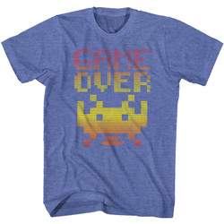 Image for Space Invaders Game Over T-Shirt