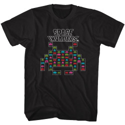 Image for Space Invaders Aliens T-Shirt