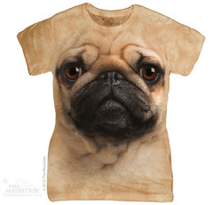 Image for The Mountain Girls T-Shirt - Pug Face