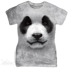 Image for The Mountain Girls T-Shirt - Big Face Panda