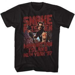 Image for Escape from New York T-Shirt - Snake Eye Patch