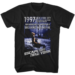 Image for Escape from New York T-Shirt - Insane