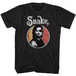 Image for Escape from New York T-Shirt - Circle Snake