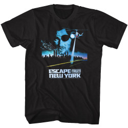 Image for Escape from New York T-Shirt - Vintage Poster