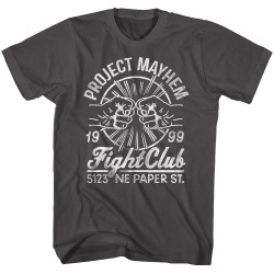 Image for Fight Club T-Shirt - Fist Bump