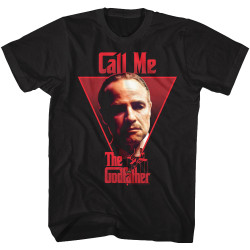 Image for The Godfather T-Shirt - Call Me
