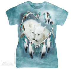 Image for The Mountain Girls T-Shirt - Wolf Heart