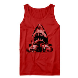 Image for Jaws Tank Top- Red Jowls