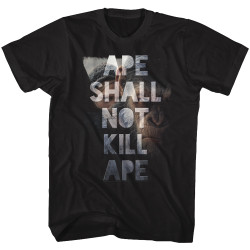 Image for Planet of the Apes T-Shirt - Shall Not Kill
