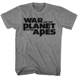 Image for Planet of the Apes T-Shirt - War for the Planet of the Apes Logo