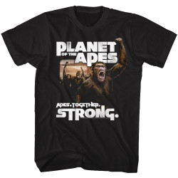 Image for Planet of the Apes T-Shirt - Revolution