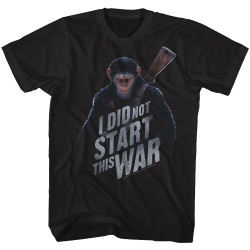 Image for Planet of the Apes T-Shirt - I Did Not Start