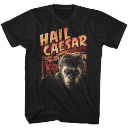Image for Planet of the Apes T-Shirt - Hail Caesar