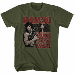 Image for Rambo T-Shirt - Become War