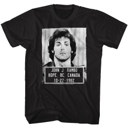 Image for Rambo T-Shirt - Mugshot