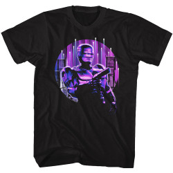Image for Robocop T-Shirt - Neon City