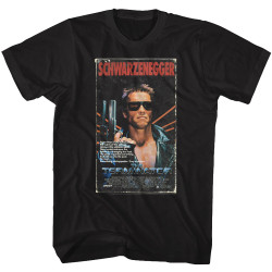 Image for The Terminator T-Shirt - VHS
