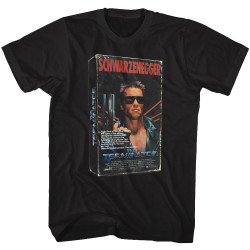 Image for The Terminator T-Shirt - VHS 3D