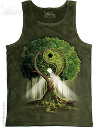 Image for The Mountain Tank Top - Yin Yang Tree