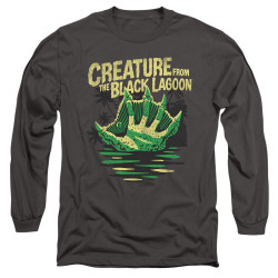 Image for The Creature From the Black Lagoon Long Sleeve Shirt - Creature Breacher