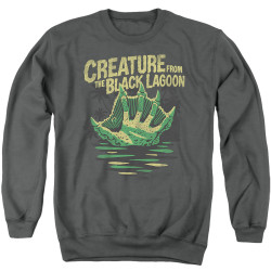 Image for The Creature From the Black Lagoon Crewneck - Creature Breacher