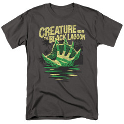 Image for The Creature From the Black Lagoon T-Shirt - Creature Breacher