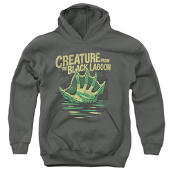 Image for The Creature From the Black Lagoon Youth Hoodie - Creature Breacher
