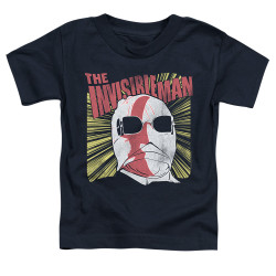 Image for The Invisible Man Portrait Poster Toddler T-Shirt