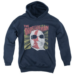 Image for The Invisible Man Youth Hoodie - Portrait