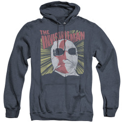 Image for The Invisible Man Heather Hoodie - Portrait