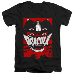 Image for Dracula V Neck T-Shirt - As I Have Lived