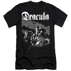 Image for Dracula Premium Canvas Premium Shirt - Castle