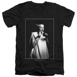 Image for Bride of Frankenstein V Neck T-Shirt - Looks That Kill