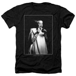 Image for Bride of Frankenstein Heather T-Shirt - Looks That Kill