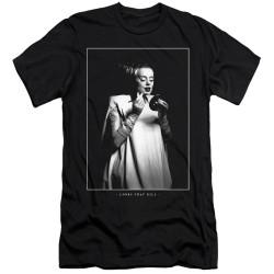 Image for Bride of Frankenstein Premium Canvas Premium Shirt - Looks That Kill