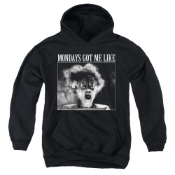 Image for Bride of Frankenstein Youth Hoodie - Mondays Got Me Like